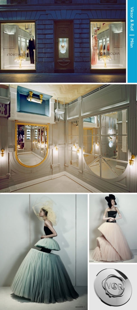 Upside Down boutique by Viktor & Rolf In Milano